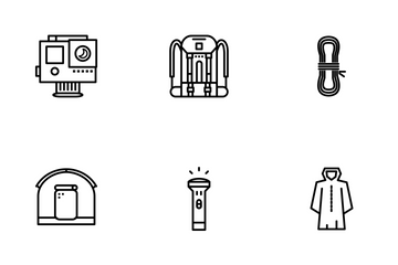 Camping Tools Icon Pack