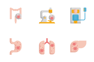 Cancer Icon Pack