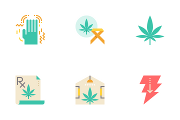 Cannabis Drugs Icon Pack