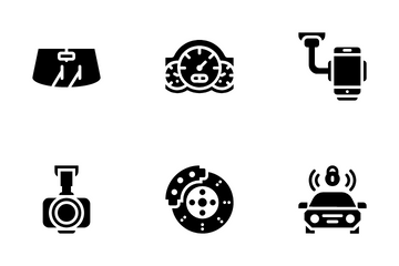 Car Auto Parts Icon Pack