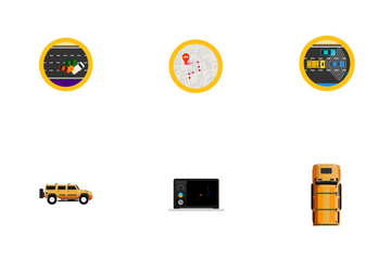 Car Automation Icon Pack