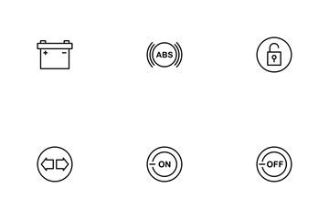 Car Indicator Icon Pack