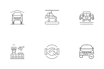 Car Insurance Vol 1 Icon Pack