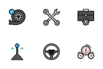 Car Machine Icon Pack