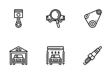 Car Repair Icon Pack