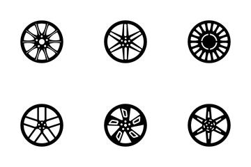 Car Rims Icon Pack