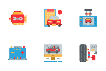 Car Service Icon Pack