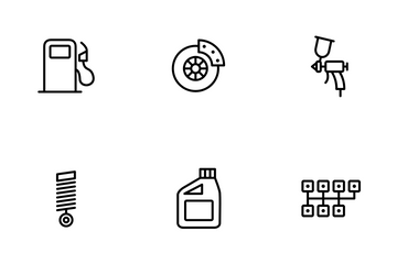Car Services Icon Pack