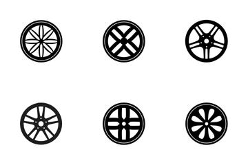 Car Wheels  Icon Pack