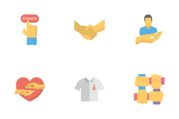 Care And Charity Icon Pack