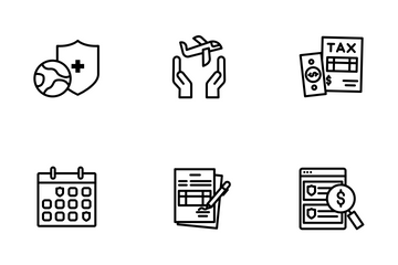 Care Insurance Icon Pack