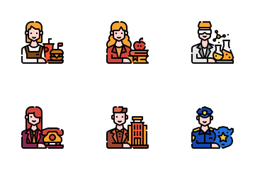 Career Avatar Icon Pack