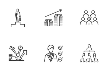 Career Path Icon Pack