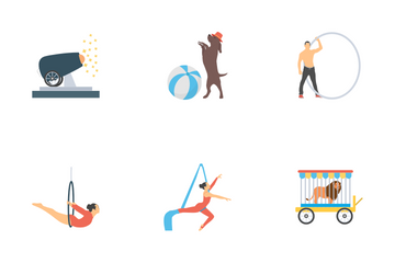 Carnival Circus Icon Pack