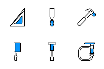 Carpentry Tools Icon Pack