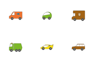 Cars And Trucks Icon Pack