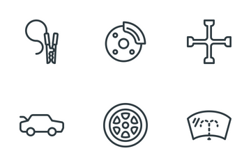 Cars & Components Icon Pack