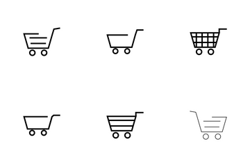 CART BOLD Icon Pack