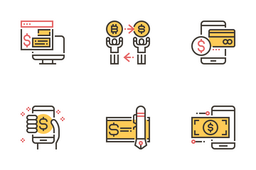 Cashless Society Icon Pack