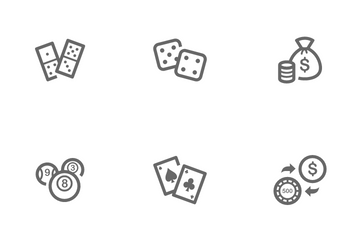 Casino And Gambling Icon Pack