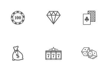 Casino And Gambling Symbol Icon Pack