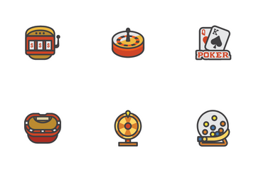 Casino Game Icon Pack