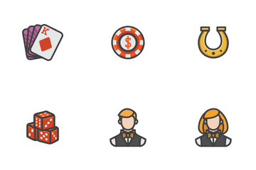 Casino General Icon Pack