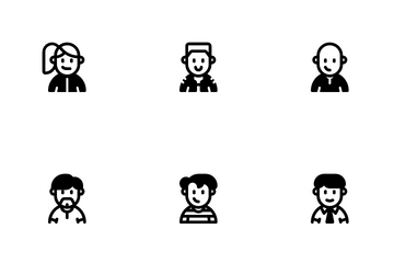 Casual Avatars Icon Pack