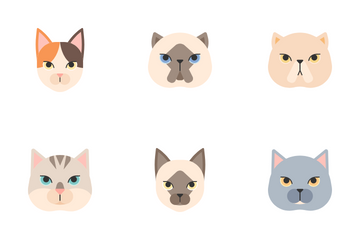 Cat Breed Icon Pack