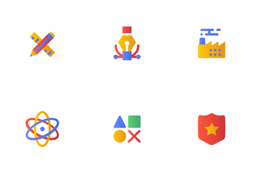 Categories Gradient  Icon Pack