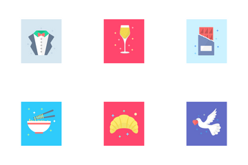 Celebration And Birthday Icon Pack