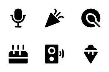 Celebration And Party Icon Pack