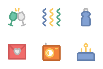 Celebration And Party 3 Icon Pack