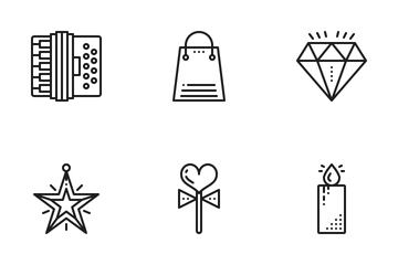 Celebration & Holidays Icon Pack