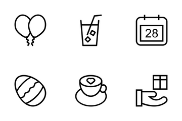 Celebration Vector Icons Icon Pack