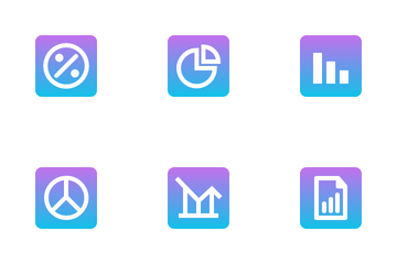 Chart And Business Icon Pack
