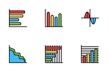 Chart And Diagram Icon Pack