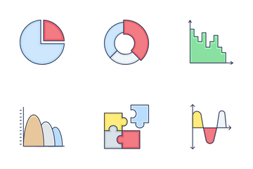 Chart And Graph Vol 1 Icon Pack