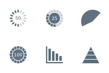 Chart And Graphs Icon Pack