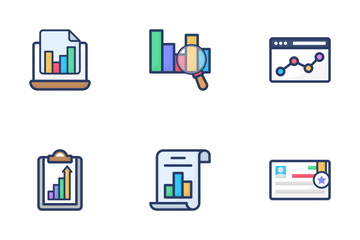 Charts And Analytics Icon Pack