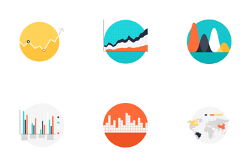 Charts And Diagrams Icon Pack