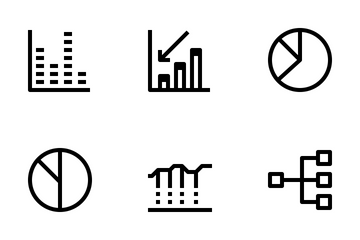 Charts And Graph  Icon Pack