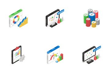 Charts And Infographics Icon Pack