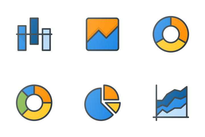 Charts & Infographic Icon Pack