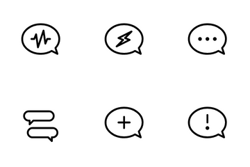 Chat And Messages Icon Pack