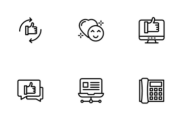Chat And Social Network Icon Pack