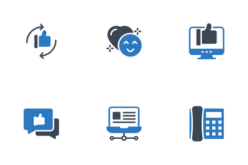 Chat And Social Networking Icon Pack