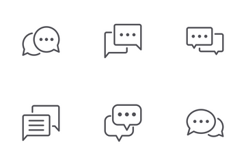 Chat Bubble Icon Pack