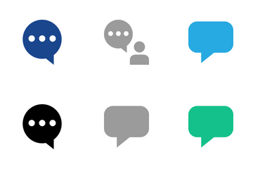 Chat & Message Icon Pack