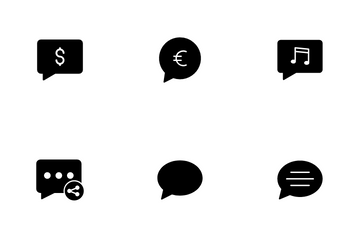 Chat Message Vol 1 Icon Pack